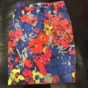Floral Pencil Skirt!